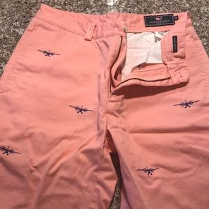 Vineyard Vines Club Shorts w/ Airplane Embroidery
